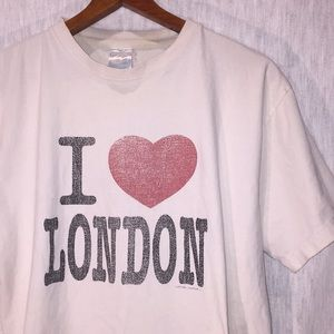 "Vintage ""I Love London"" T Shirt"